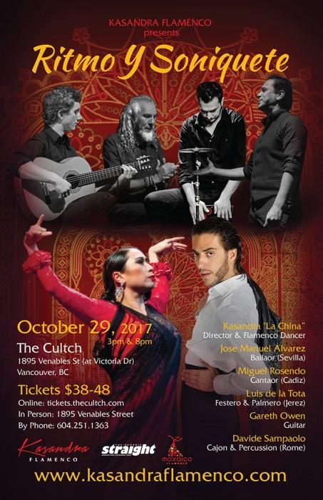 Kasandra-Flamenco-Ritmo-Y-Soniquete-Poster